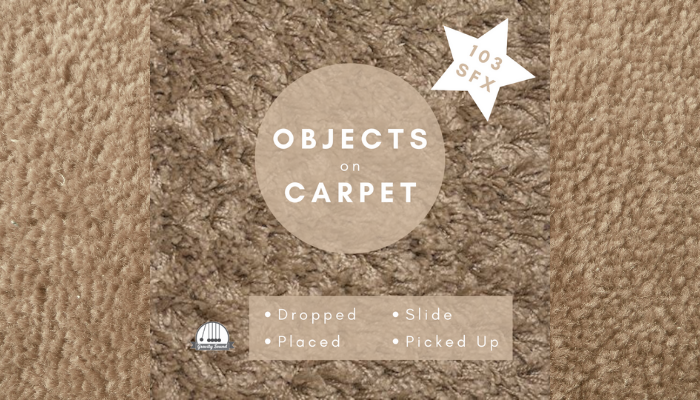 Objects on Carpet