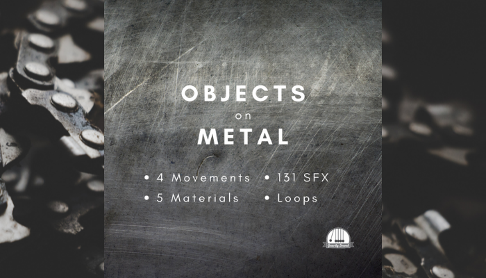 Objects on Metal