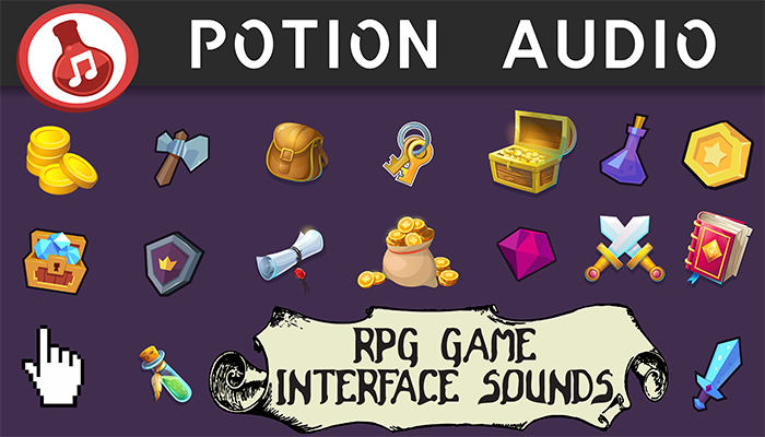 RPG/Fantasy Game – Interface Sounds