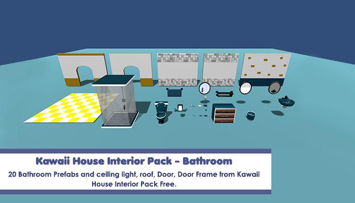 Kawaii House Interior Pack – Bathroom
