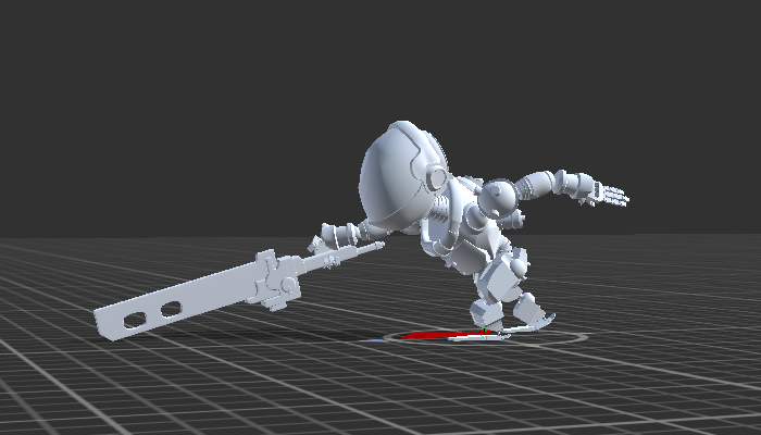 Sci-Fi Cartoon Warrior with Rig and Animation