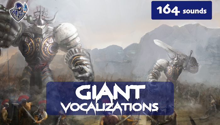 Giant Vocalizations