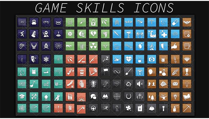 Game Icon Skills