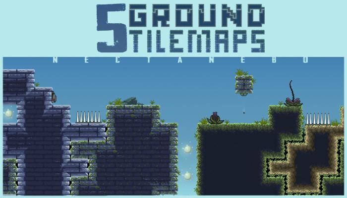 5 Ground Tilemaps