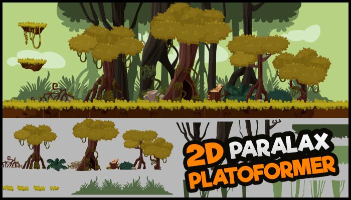 Background Parallax Swamp