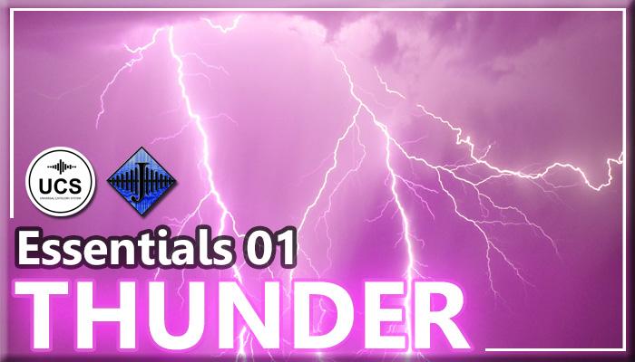 SFX Essentials 01 – THUNDER