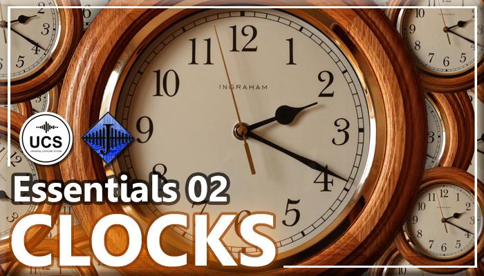 SFX Essentials 02 – CLOCKS