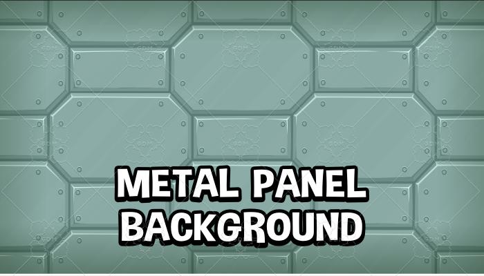 Metal panel background
