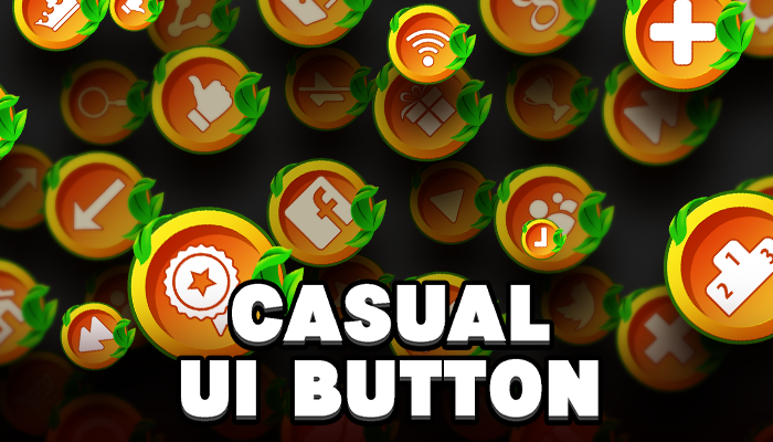 Casual UI Buttons #2