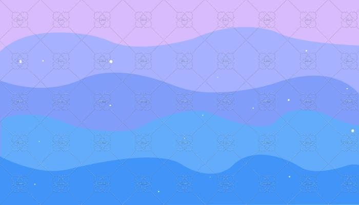 Magic waves Background