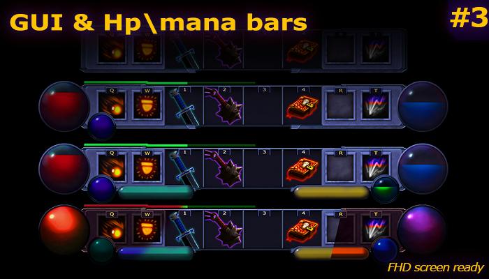 Health and mana bars #3