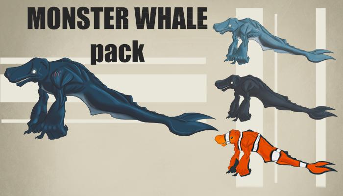 Monster Sperm Whale pack