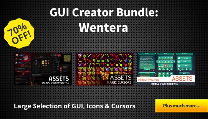 GUI Creator Bundle – Wentera