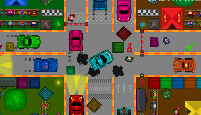 Racing game 2D Asset Pack