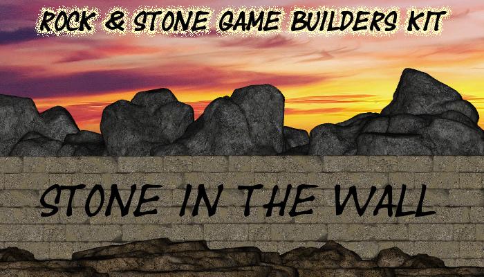 Rock and Stone Platformer Game Builder's Kit