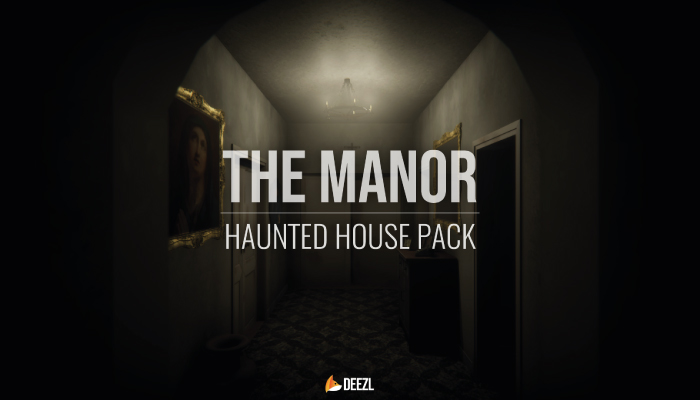 The Manor – Haunted House Pack – Unity HDRP