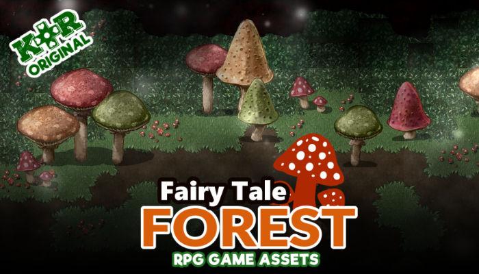 Fairy Tale Forest Tileset for RPGs