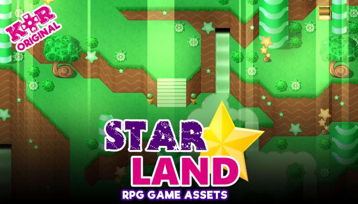 Star Land Tileset for RPGs