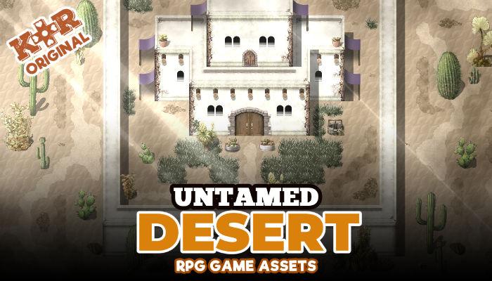 Untamed Desert Tileset for RPGs