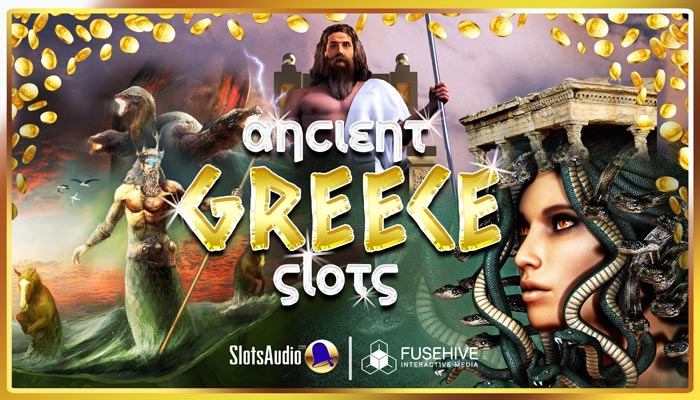 Ancient Greece Mythology Gods Slot Game Sound Effects Library – Casino Gambling Music & SFX Pack