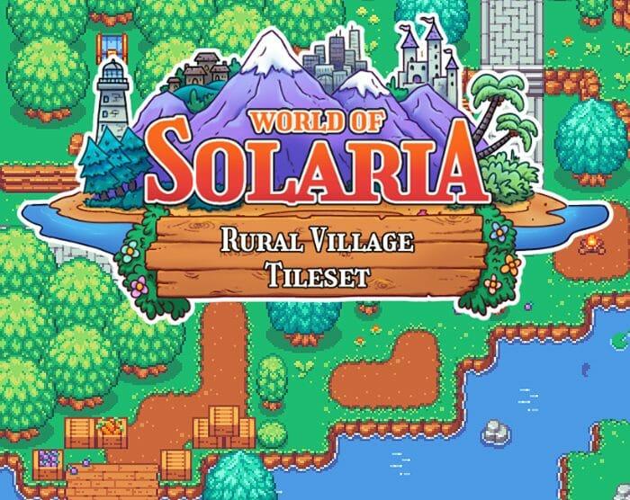World of Solaria: Rural Village Tileset