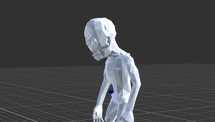 Cartoon Zombie with Rig and Animation