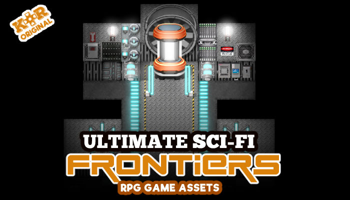 Sci-Fi Frontiers Tileset for RPGs