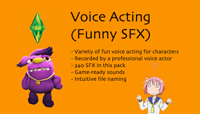 Voice Acting (Funny SFX)