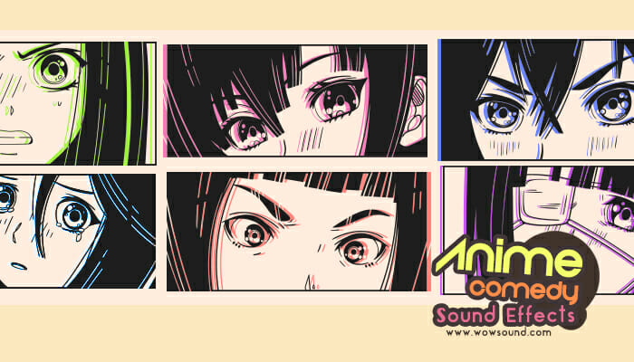 Anime Comedy Sound Effect Pack