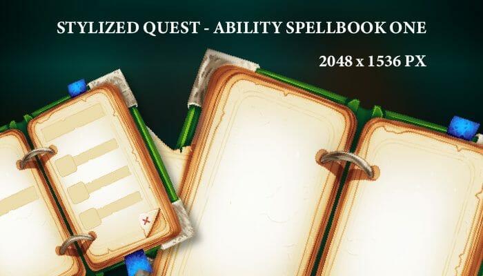 Stylized Spellbook One