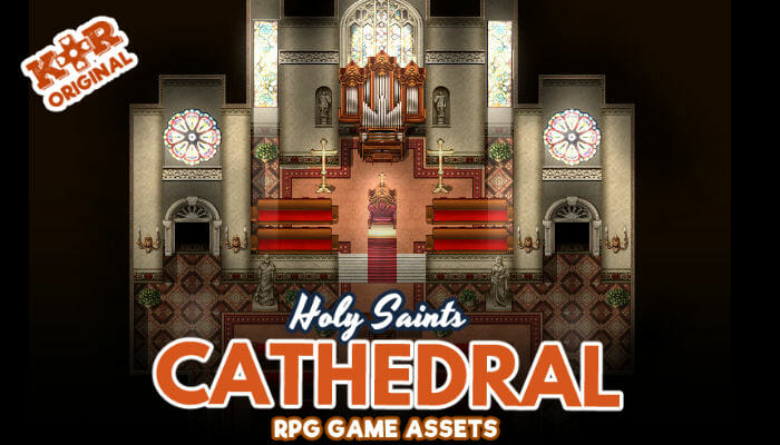 Holy Saints Cathedral Tileset for RPGs