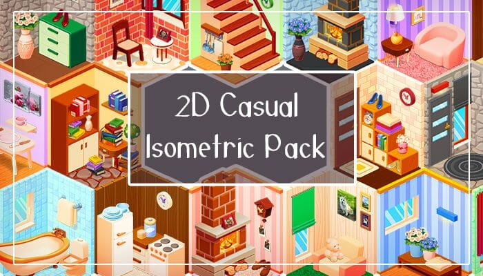 2D Casual Isometric Pack