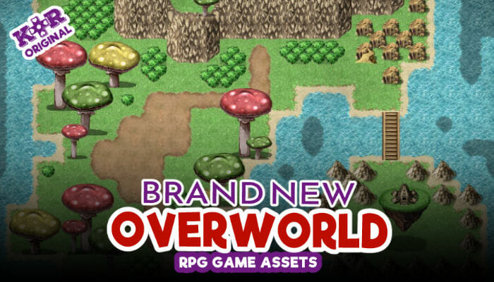 Brand New Overworld Tileset for RPGs
