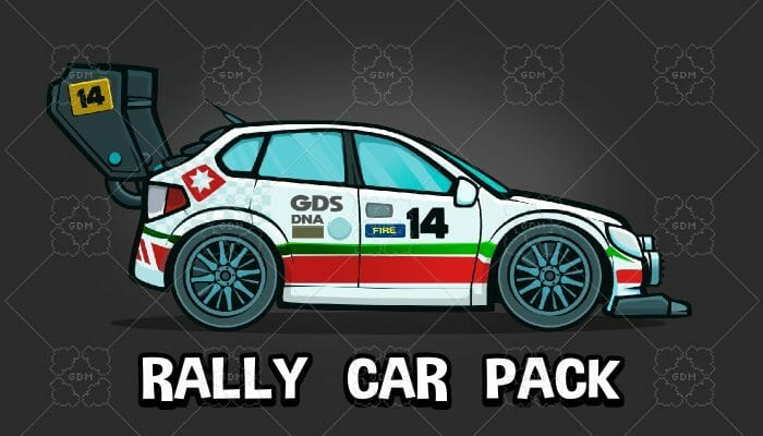 Rally car pack