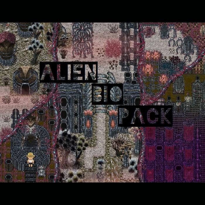 PIXEL ALIEN PACK