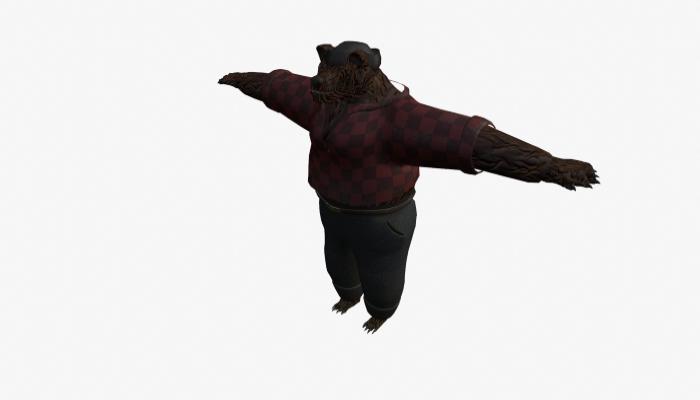 bear lumberjack