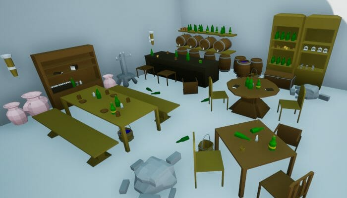 Low Poly Dungeon Props Mega Pack