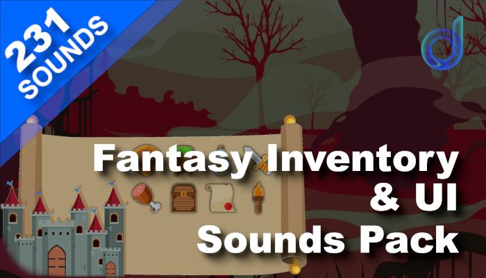 Fantasy Inventory & UI Sounds Pack