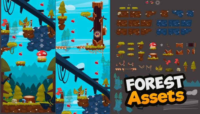 Forest Assets – Tiles