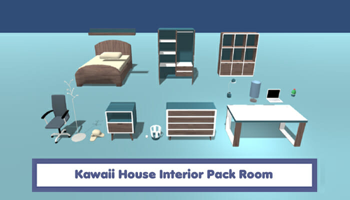 Kawaii House Interior Pack – Room