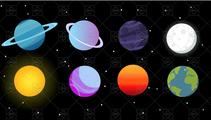 Planets 2D