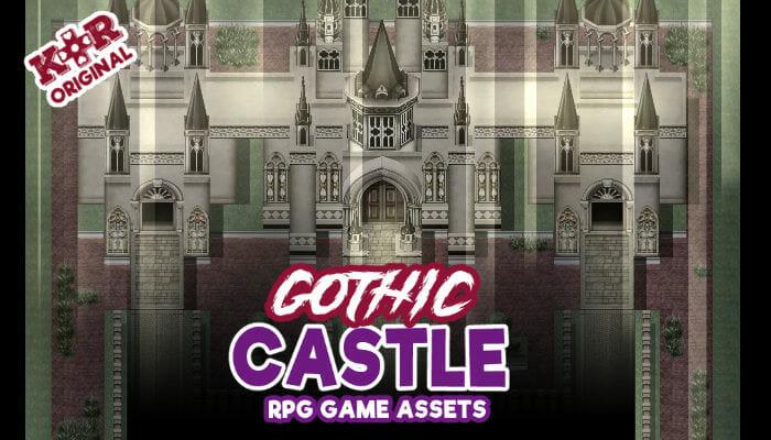 Gothic Castle Tileset for RPGs