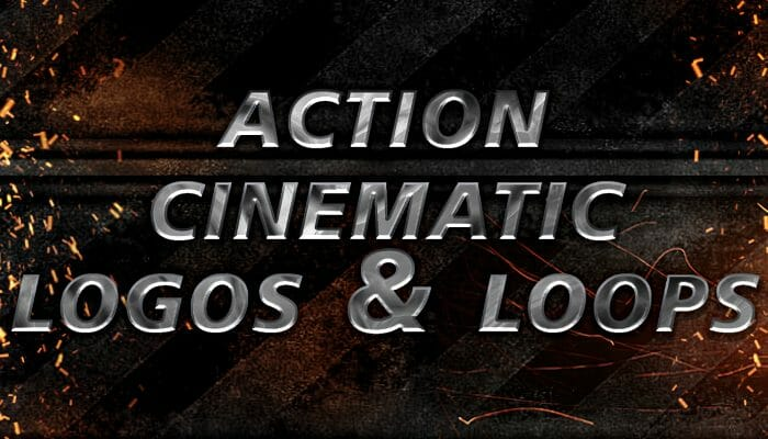 Action Cinematic Logos and Loops