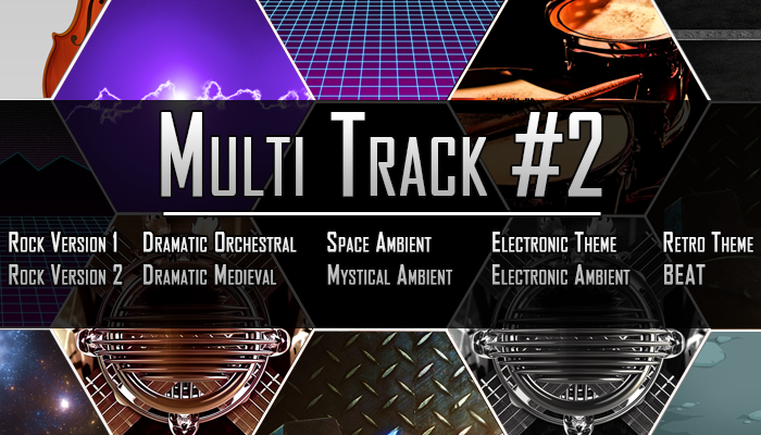 Multi Track #2 – 10 Tracks From 1 Theme