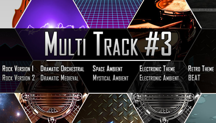 Multi Track #3 – 10 Tracks From 1 Theme