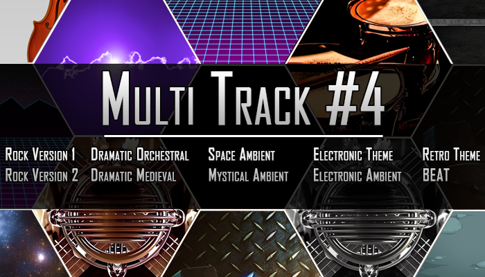 Multi Track #4 – 10 Tracks From 1 Theme