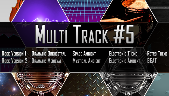Multi Track #5 – 10 Tracks From 1 Theme
