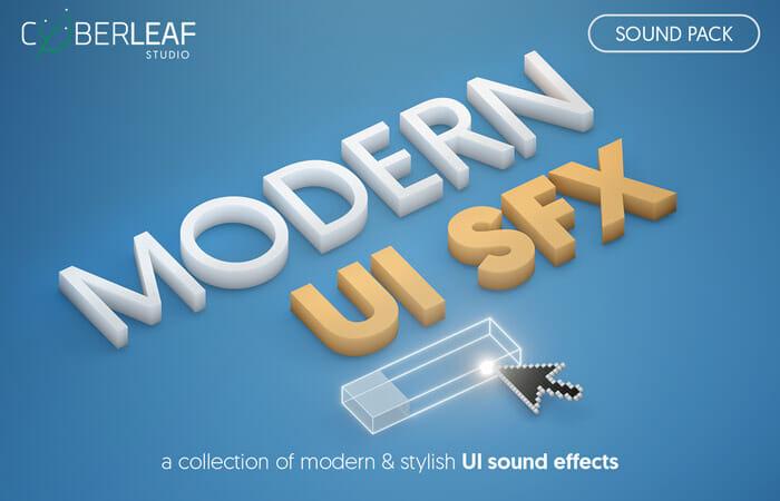 Modern UI SFX – sound pack