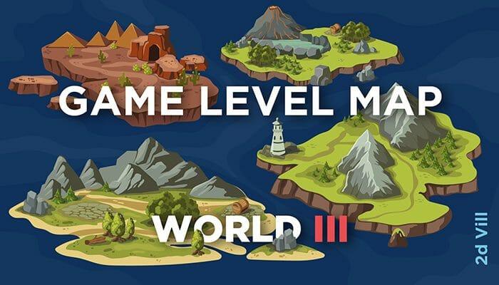 Game Level Map World III