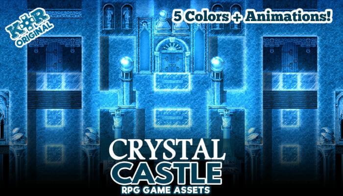 Crystal Castle Tileset for RPGs